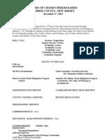 FH Workshop Meeting Minutes - 2012-12-27