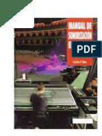 Manual de Sonorización en Directo Carles P Mas