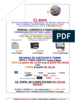 Tabela de Preco Mac Print