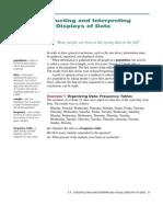 1.1 Constructing and Interpreting Visual Displays of Data