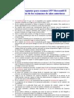 Mercantil II Posibles Preguntas Cortas 1 y 2PP
