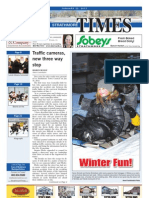 January 25, 2013, Strathmore Times, Volume 5, Issue 4, Locally Owned & Operated Weekly Newspaper