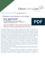 Budismo Como Religion y Filosofia