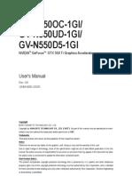 Vga Manual n550d5(Oc)(Ud)-1gi e
