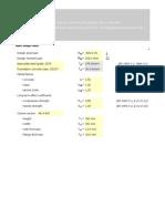 Column base plate [Eurocode] - .ods file