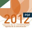Agenda de la Comunicación 2012