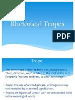 Rhetorical Tropes