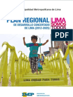Plan Regional de Desarrollo Concertado de Lima 2012-2025