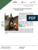 23-01-13 Boletin 1209 Cumplirá Gobierno de la Gente con planta de tratamiento en Santa María del Oro