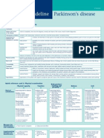 KNGF Guideline for Physical Therapy in Patients With Parkinsons Disease Flowchart