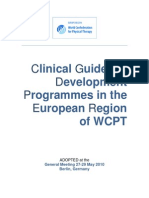 Adopted. PI WG. Updated Database on Clinical and Multidisciplinary Guidelines