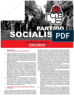 Ideario Partido Socialista