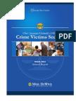 Crime Victim Services Fiscal 2012 Annual Report