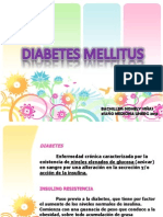 Diabetes Mellitus tipo 1, tipo 2 y Diabetes Gestacional