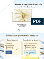 The Zen, Art and Science of Organizational Networks
