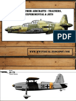 German Other Aircrafts - Trainers, Rockets, Experimental & Jets (Luftwaffe)