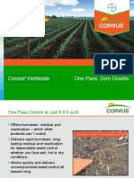 Corvus Corn Herbicide - 2012 Product Guide