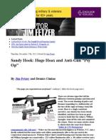 "Sandy Hook- Huge Hoax and Anti-Gun ""Psy Op"" _ Veterans Today"