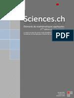 Éléments de Mathématiques Appliquées (3ème édition)