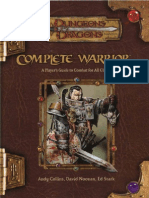 D&D 3.5 Complete Warrior