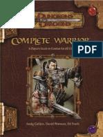 D&D 3.5 Complete Warrior