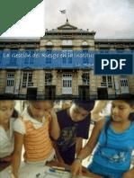 5. La Gestión del Riesgo en la Institución Educativa
