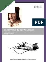 Comentario de Texto- Jorge Manrique