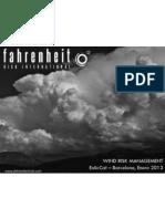 wind risk management - fahrenheit risk international