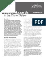 Annual Flood Hazard Letter