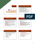12.1 Managerial EconomicsA