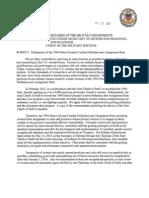 Memorandum from Panetta and Dempsey