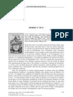 Hobbes y Vico - Giuseppe Mazzotta