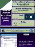 TechSETS Presentation