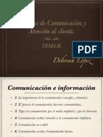 TÉCNICAS DE COMUNICACIÓN II