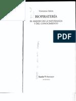 Biopirateria. El saqueo de la Naturaleza y el Conocimiento