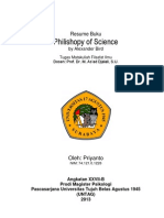 Resume of Philoshopy of Science