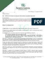 ICMS 4% -Operações Interestadual - Orientação