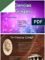 Ciencias griegas cirino