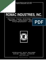 2012 Romac Catalog