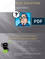 Differential Equations Chapter 8 Review ppt