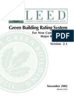 Green Building Council - Green Building Rating System