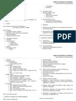 Caderno de Direito Do Trabalho I