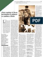 Entrevista a Miguel Delibes publicada en el suplemento NATURA de El Mundo el 11 de marzo de 2006