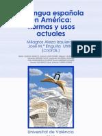 Libro lengua española normas y usos actuales