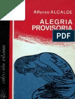Alfonso Alcalde - Alegría Provisoria (Cuentos)