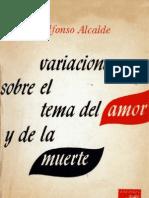 Alfonso Alcalde - Variaciones Sobre El Tema Del Amor y de La Muerte
