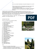 Certificate In Garden Design course, become a consultant landscape designer, planner