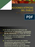 5. REACCIONES ATÍPICAS DEL DUELO