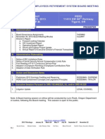 PERS Board Jan. 25 Meeting Packet