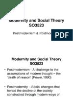 Postmodernism handout